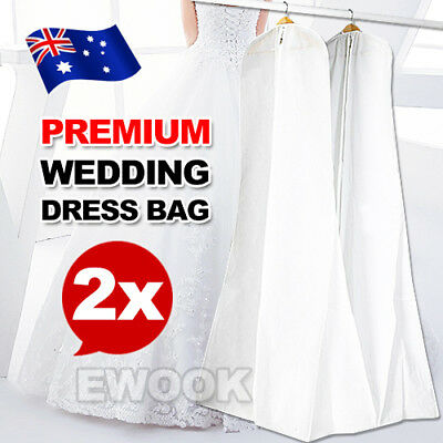 2X Extra Large Wedding Dress Bridal Gown Garment Breathable Cover Storage Bag