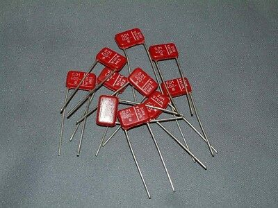 WIMA MKS .01uf 400 Vdc Long Lead High Quality Polyester Capacitors - Pack of 5
