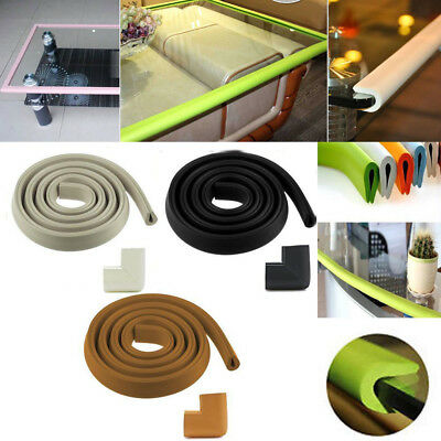 6.6ft / 2M Baby Safety Glass Table Protector Bumper U Type Foam Corner Cushion