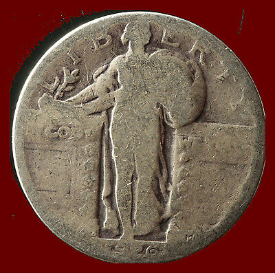 1926-S Standing Liberty 90% Silver Quarter Ships Free. Buy 5 for $2 off