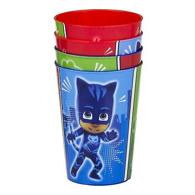 PJ Masks Kinder Becher-Set 4-teilig Trinkbecher