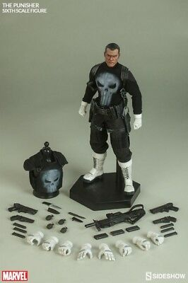 """Sideshow Marvel THE PUNISHER - 1/6 12"""" 30cm - MISB NEU NEW * SOLD OUT"""
