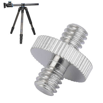 """Hot 1/4"""" Male to 1/4"""" Male Camera Screw Adapter For Tripod Mount Holder OW"""