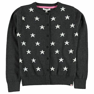 French Connection Bambine Cardigan Ragazze Maglione Top Manica Lunga Girocollo
