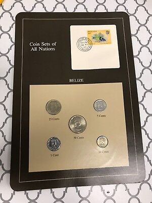 Belize Coin Sets of All Nations **FREE SHIPPING**
