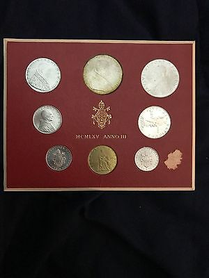 1965 Vatican City Mint Set *FREE SHIPPING*