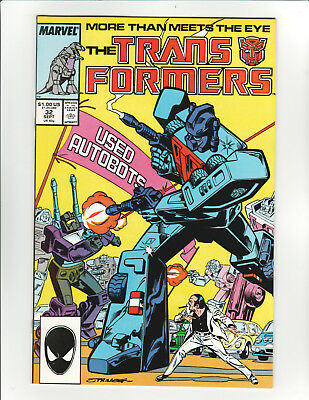 Transformers #32 Marvel Comics - 9.2 Near Mint - High Resolution Scans!