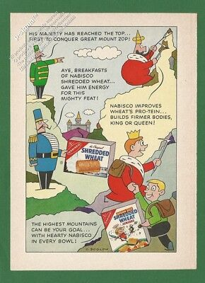 SHREDDED WHEAT by Nabisco 1960 Vintage Reader's Digest Print Ad