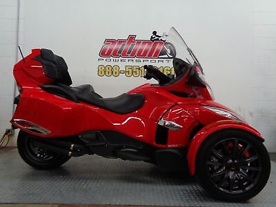 Can-Am Spyder RT-S SE5  2013 Can Am Spyder RT-S SE5 Trike Touring 733 miles financing shipping