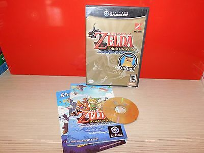 The Legend of Zelda Wind Waker Nintendo GameCube Kmart Exclusive! COMPLETE!
