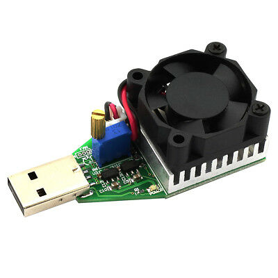 Mini USB 0.15A-3A Electronic Load Tester Module Adjustable Constant Current V6D8
