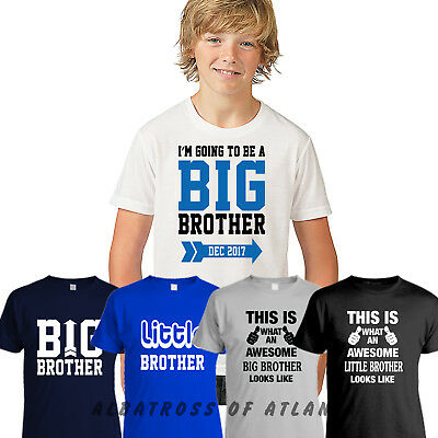 I'm Going To Be A Big Brother, Little Brother Awesome Brother Children Kids Top