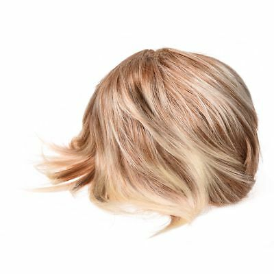 New High Quality Cool Women Blonde Wig Heat Resistant Short Wigs for Women I7X6