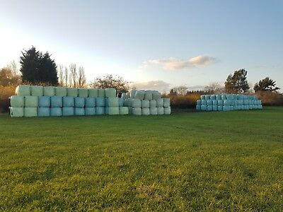4ft round wrapped haylage bales 2017