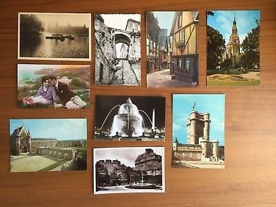 Vintage Assorted French Postcards