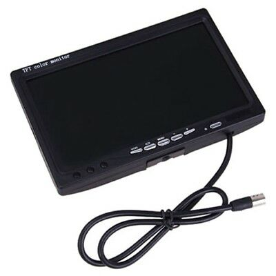 "7"" TFT LCD Digital Color Screen Monitor Car Rear View Backup Reverse Camera C9P7"