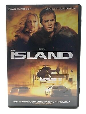 The Island DVD Scarlett Johansson and Ewan McGregor Movie
