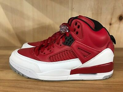 100% authentic 5fe38 608fb Jordan Spizike Gym Red Black White Wolf Grey Retro Men Size 8-13 315371-