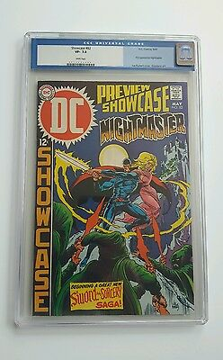 Showcase 82 CGC 7.5 1st NightMaster White Pages!