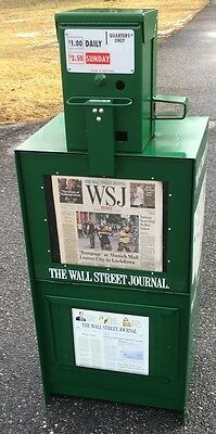 Newspaper- Machine-Refurbished-Wall Street Journal Vending Machine