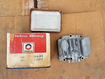 Transistorised Voltage Regulator, Delco D639,GM 1116378, NOS,  NO RESERVE