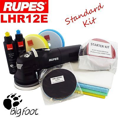 "Rupes BigFoot LHR12E 5"" Duetto Random Orbital Detailing Polishing Machine Kit"