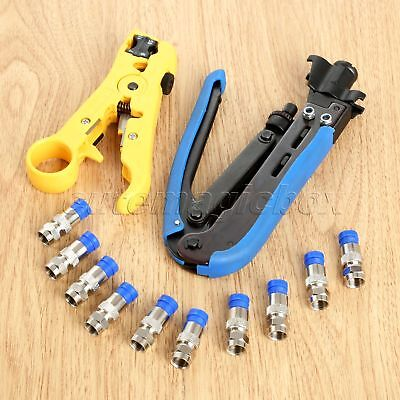 RG6 Coax Coaxial Cable Crimper Compression Connector Universal compression tool