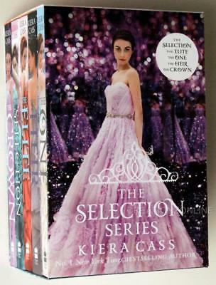 The Selection Series 5 Book Set By Kiera Cass Brand New  The One The Elite Crown