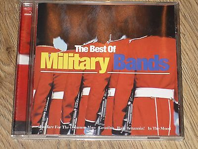 The Best Of Military Bands Cd  Marching Forces Music  Vgc  £3.99 + Freepost Vgc