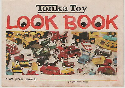 Vintage 1969 Tonka Toy Look Book Catalog 14 Pages Great Color Photos Complete