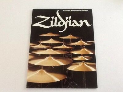 Vintage Musical Instrument Catalog Zildjian Cymbals & Accessories 16 Pages
