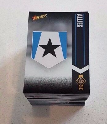 2017 Select Future Force Full Set 100 Cards Common Base Set