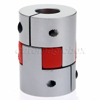 10mmx12.7mm CNC Clutch Stepper Coupling Motor Coupling Jaw Shaft Coupler D30L42