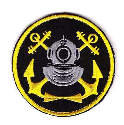 Tactical Military Navy Deep Sea Diver Patch Special Forces Helmet
