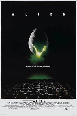 ALIEN MOVIE POSTER 24X36 new free shipping