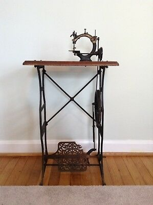 Antique Ideal Child-size Treadle Sewing Machine
