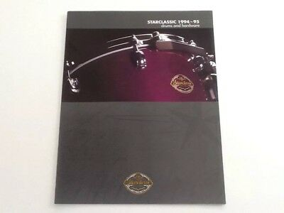 "Tama ""Starclassic 1994-95"" Drums And Hardware Catalog"