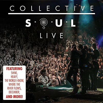 Collective Soul Cd - Live (2017) - New Unopened - Rock - Suretone