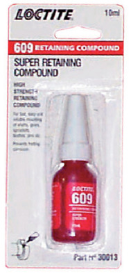 NEW Loctite 609 Medium Strength Retaining Compound 10ml 30013