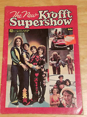 THE NEW KROFFT SUPERSHOW 1978 magazine kool and the kongs