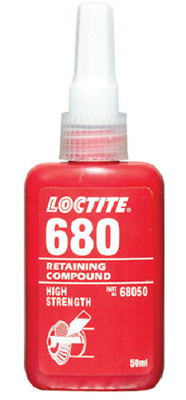 NEW Loctite 680 High Strength Retaining Compound 50ml 68050