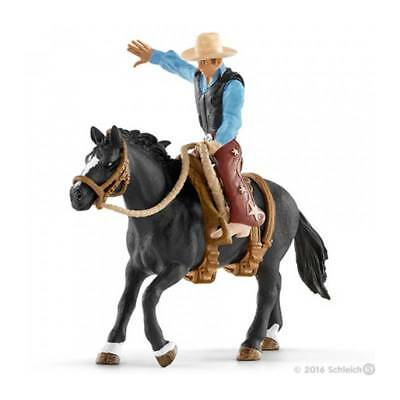 SET CAVALLO DA RODEO CON COWBOY kit da gioco FARM WORLD Schleich 41416 miniature