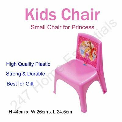 Kids/Children Chair High Quality Durable Plastic Strong Home Picnic Party Garden