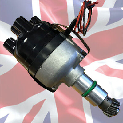 Austin 7 DKY4 Full electronic Distributor works 6 - 12 Volts  POSiTIVE EARTH