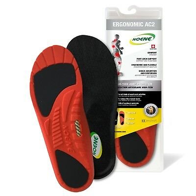 Noene AC2 Shock Absorbing Shoe Insole Reinforced Ultimate Professional A623