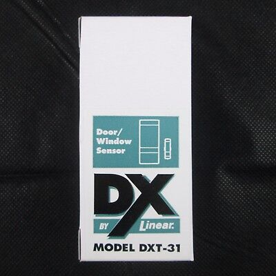 Linear Wireless Security DXT-31 D/W Transmitter Magnetic Switch New in Box