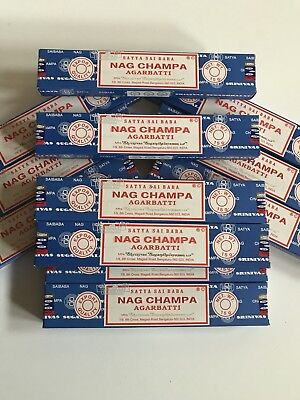 Encens Satya Sai Baba Nag Champa - Lot 4 boites - Pure tradition Indienne