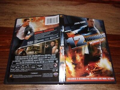 12 Rounds (DVD, 2009, Rated/Unrated)