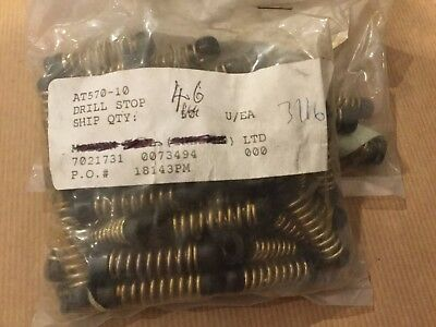 AT570-10   3/16   DRILL STOP  AEROSPACE TOOL 61 pieces