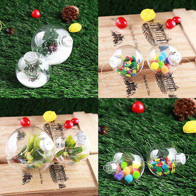 Christmas Party Home Tree Decoration DIY Shatterproof Seamless Baubles Balls For